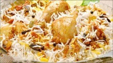 صورة صينية الدجاج والرز