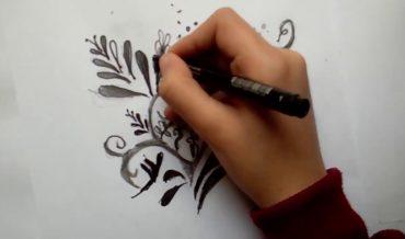 فن الزخرفة النباتية وأنواعها