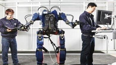 صورة روبوت هيونداي القابل للارتداء