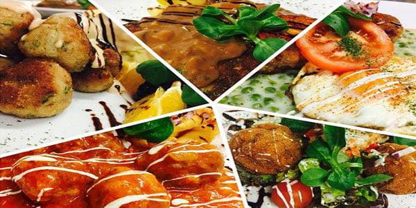 أصناف من الطعام Ten dishes سوريا
