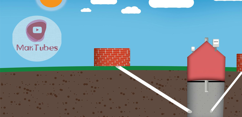 الهواضم المنزلية وإنتاج الغاز الحيوي العضوي