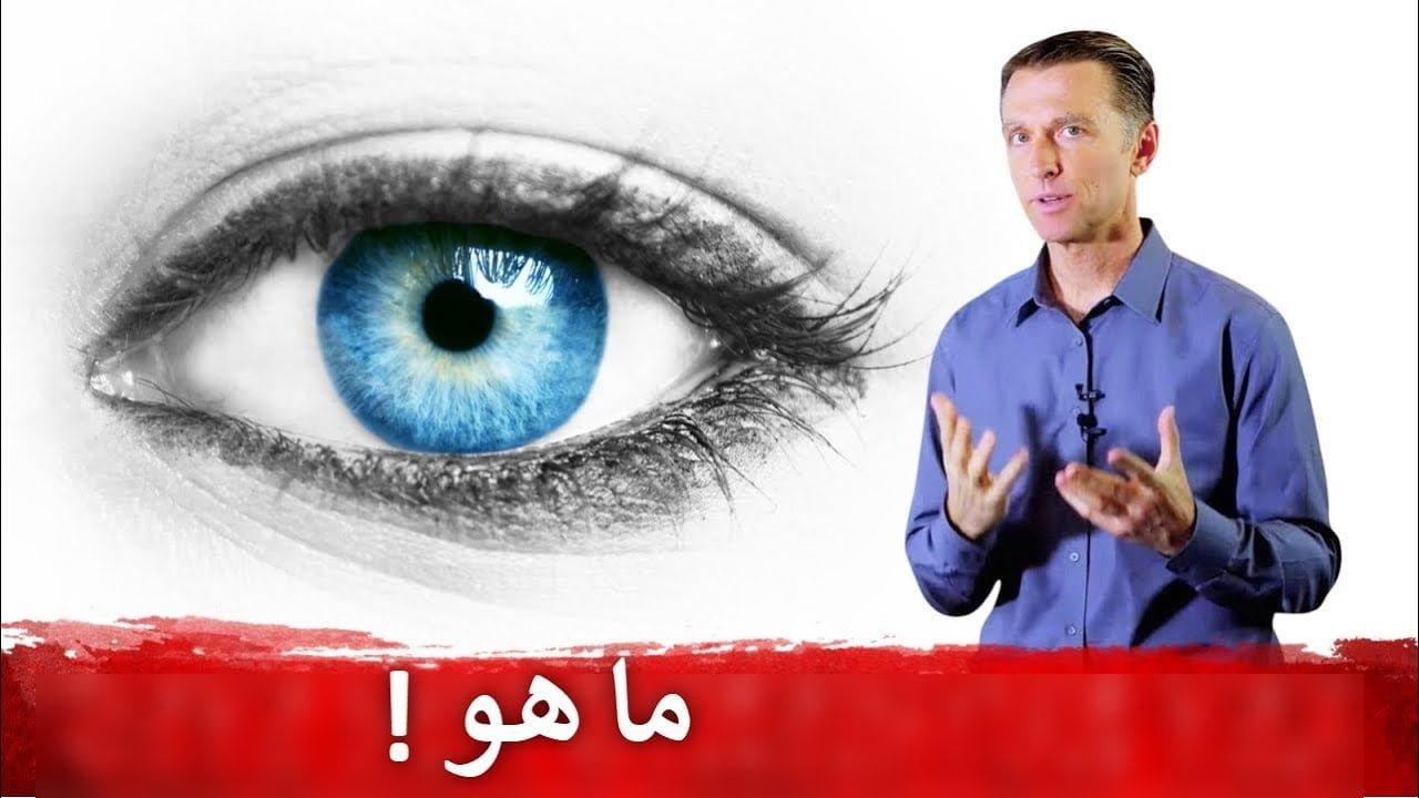 صورة صحة العين وأهم العناصر الغذائية