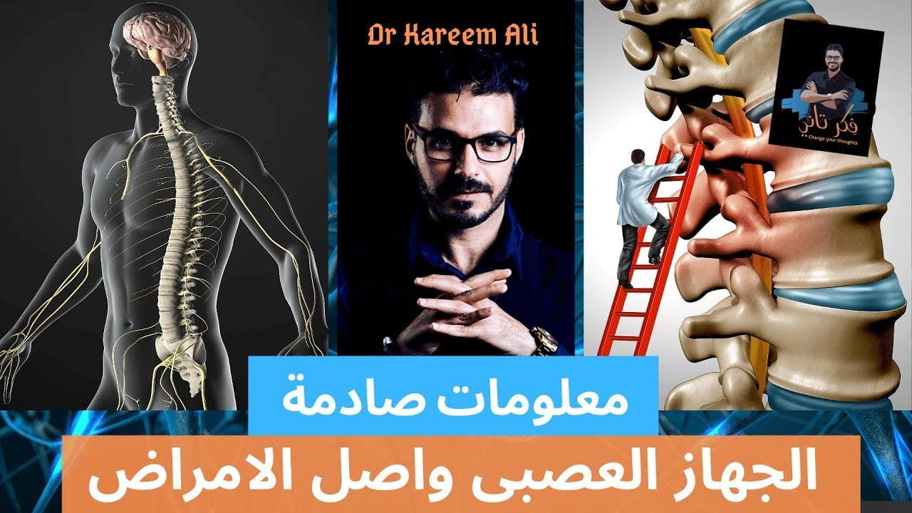 صورة الجهاز العصبي وسر الشفاء من الأمراض