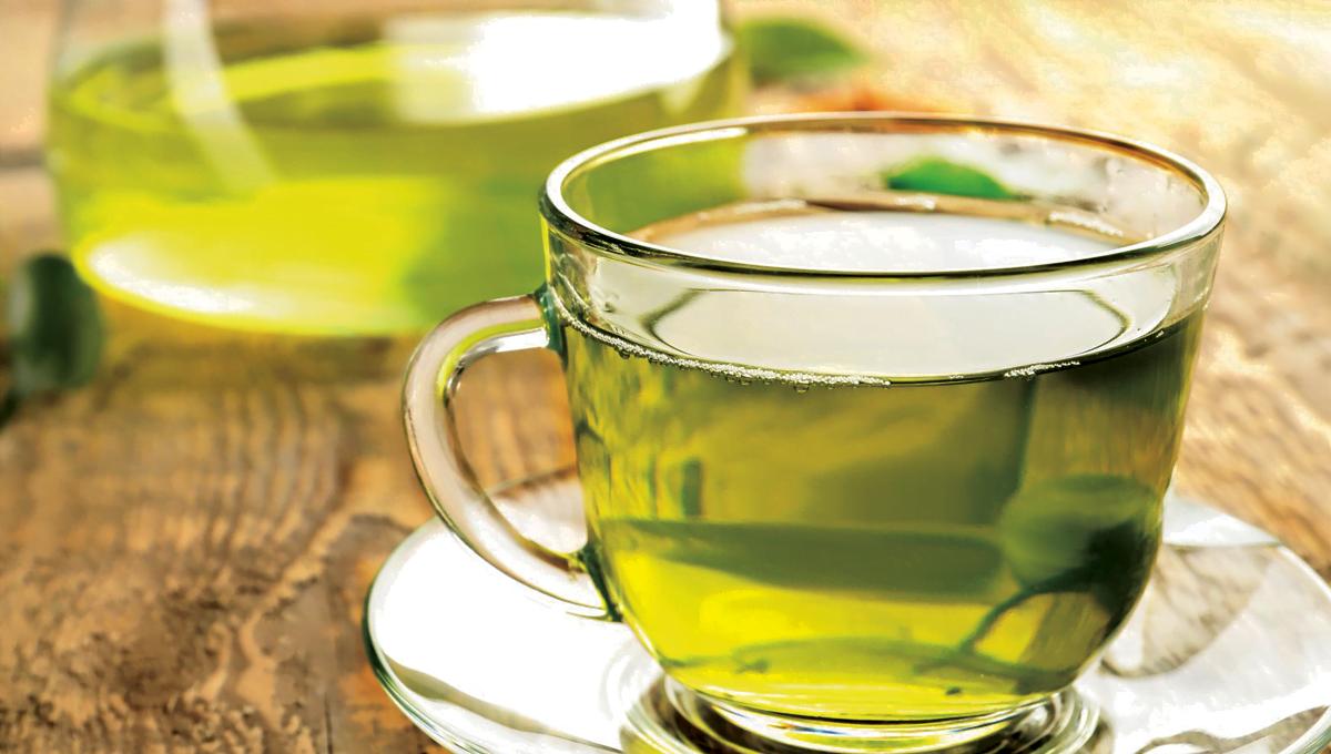 الشاي الأخضر فوائده لجسم الإنسان