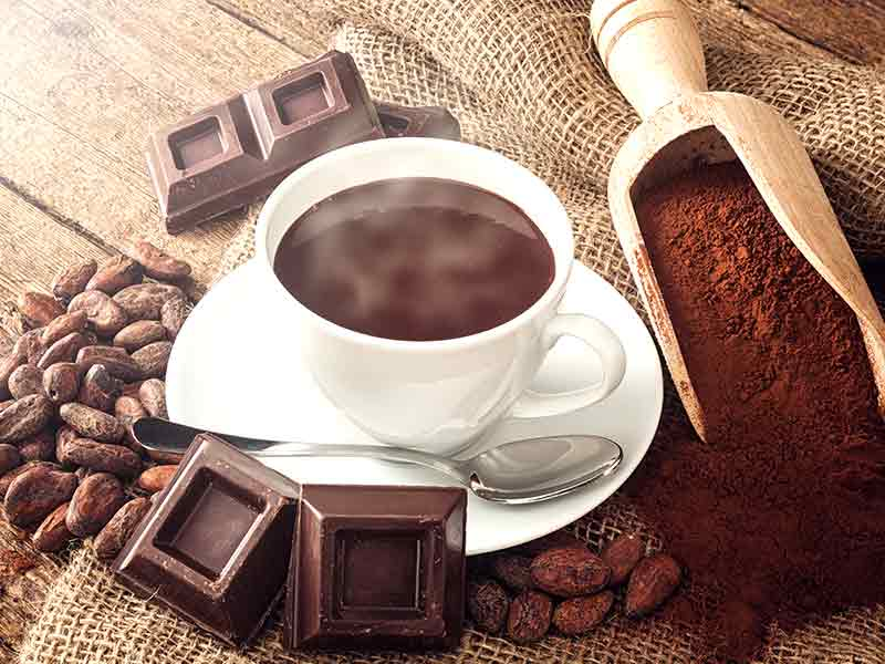 الكاكاو مشروب لمقاومة الأمراض