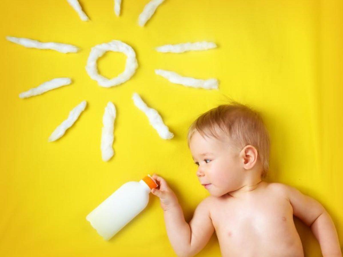 تعريض الطفل لأشعة الشمس