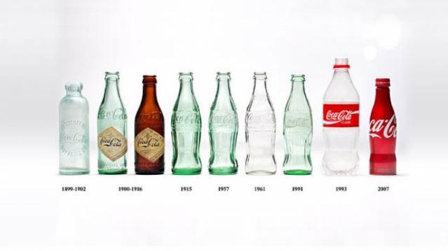 زجاجات كوكاكولا
