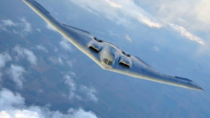 الطائرة الحربية b-2 spirit