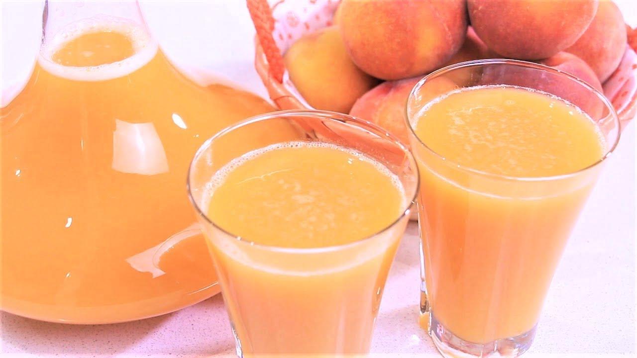 صورة عصير الخوخ وفوائده للجسم