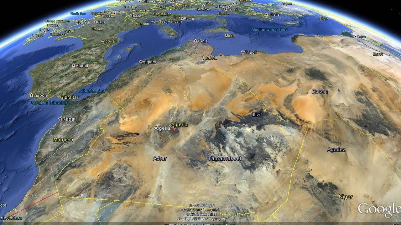 صورة أكبر الدول في العالم بالمساحة
