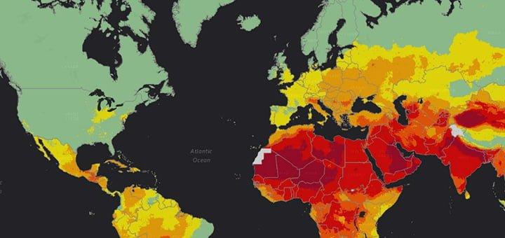 تلوث الهواء وأثر انخفاض نسب الغازات