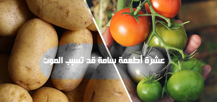 عشرة أطعمة سامة قد تسبب الموت