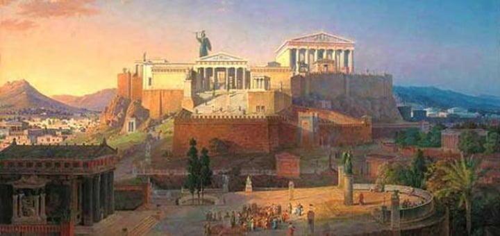 نشأة حضارة اليونان