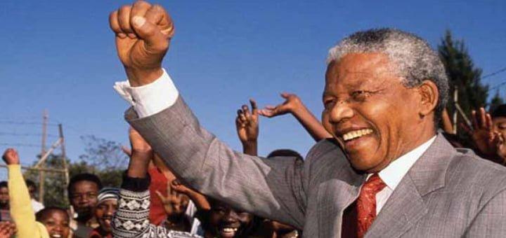 نيلسون مانديلا رئيساً