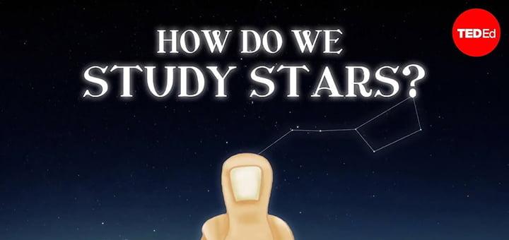 صورة كيفية دراسة النجوم ومراقبتها