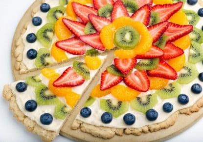 مقادير بيتزا الفواكه
