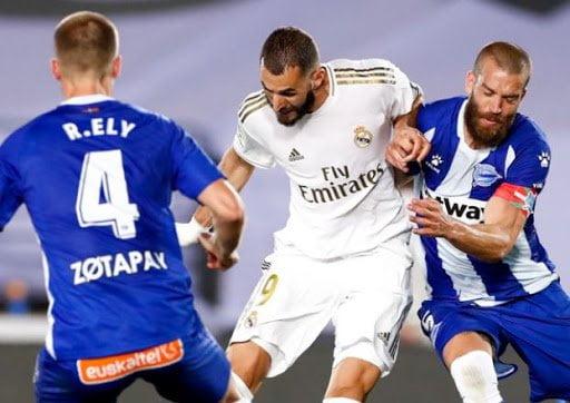 أهداف حققها ريال مدريد ضد ألافيس