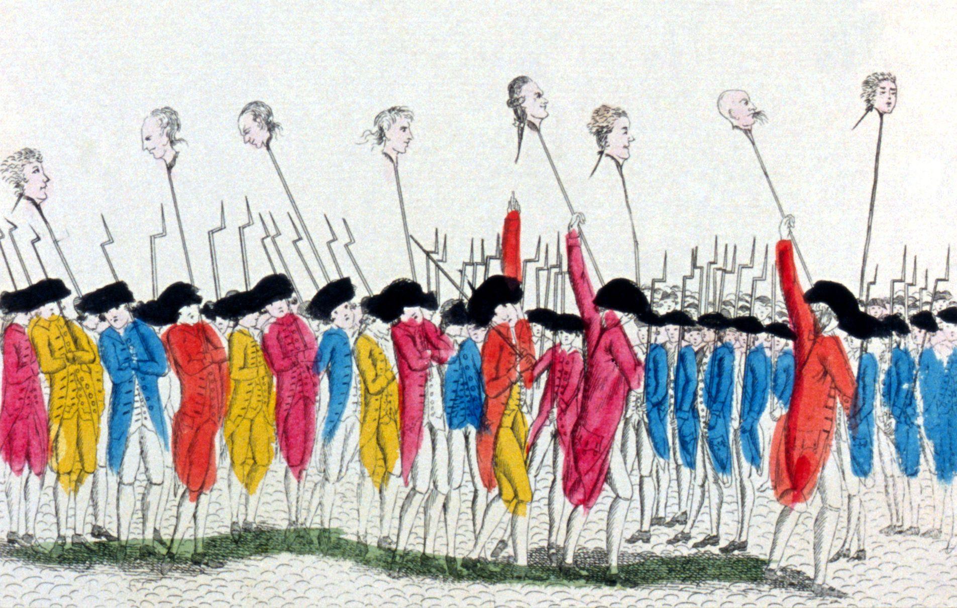 أسباب الثورة الفرنسية البعيدة