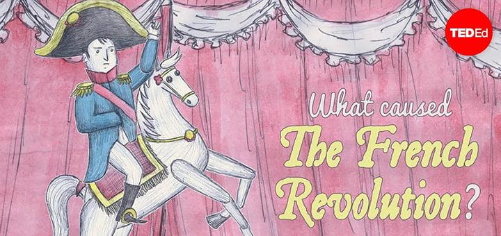 ما الذي سبب قيام الثورة الفرنسية