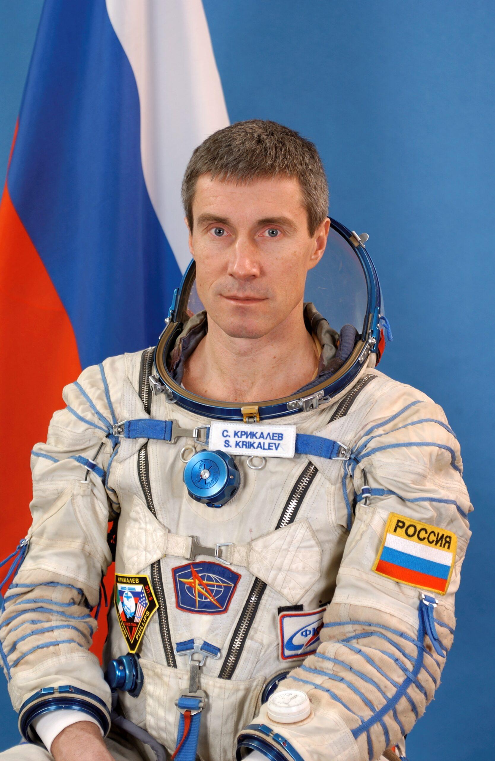Sergei Krikalev the prisoner of Mir Station