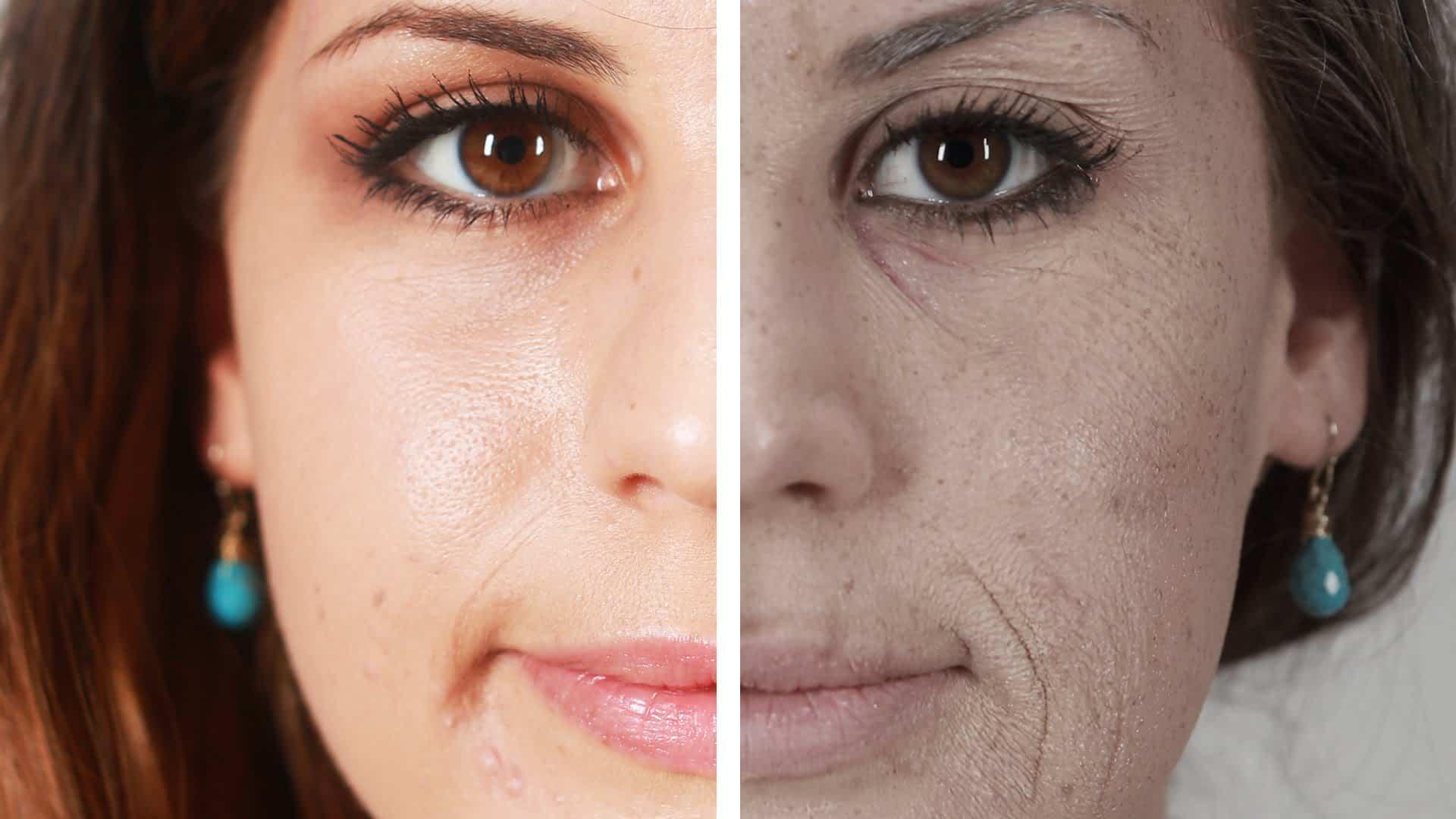صورة أضرار المكياج على بشرة الوجه