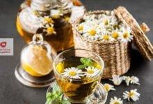 صورة اشرب شاي البابونج قبل النوم وإستيقظ على سبعة فوائد لشاي البابونج