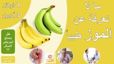 صورة فوائد الموز الطبية – اضرار الموز لمرضى ضغط الدم و الكلى