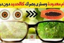 صورة علاج ضعف النظر | كيف تحافظ على العيون وتستعيد قوة نظرك بدون دواء
