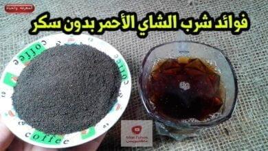 صورة الشاي الاحمر   ما هي فوائد شرب الشاي الاحمر بدون سكر ؟