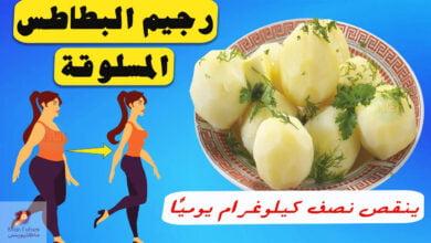 صورة البطاطس المسلوقة | رجيم لإنقاص الوزن | كيف يمكن ذلك؟
